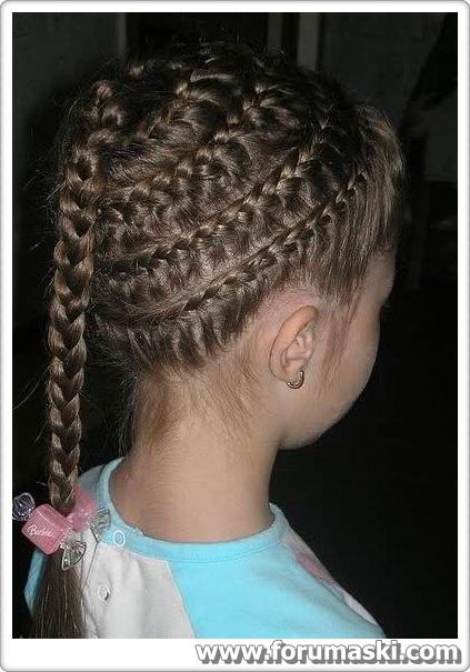 Profil Icin Kiz Fotolari: Kız Çocuğu Saç Modelleri, Çocuk Saç Örgüleri